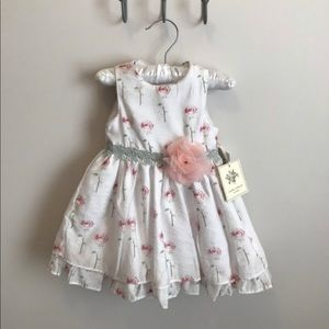Laura Ashley London rose print dress